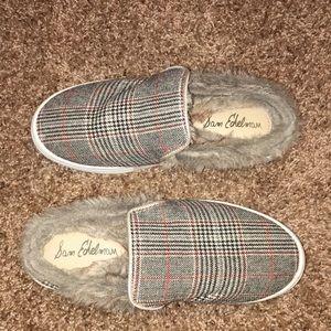 Sam Edelman Levonne Sneaker Mule Faux Fur